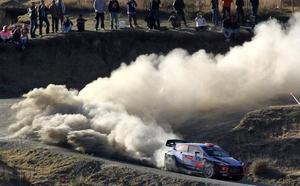 Dani Sordo, segundo en el Rally de México
