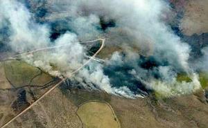 Cantabria mantendrá activo el operativo contra incendios mientras dure el viento Sur