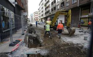 Iniciadas las obras de mejora de la calle Raimundo Cicero Arteche
