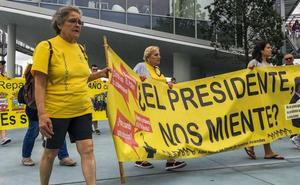 AMA volverá a Bruselas porque, «diez años después», no hay dinero para resarcir a los perjudicados por los derribos
