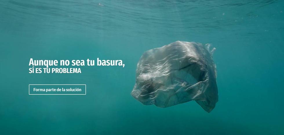 El proyecto Libera lucha contra la «basuraleza»