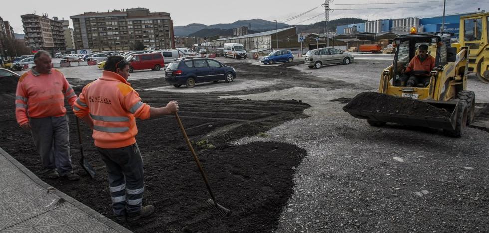El plan de asfaltado de La Inmobiliaria comienza en la finca de La Carmencita