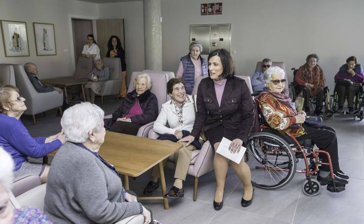 Inaugurada la ampliación de la residencia de mayores de la Fundación San Cándido