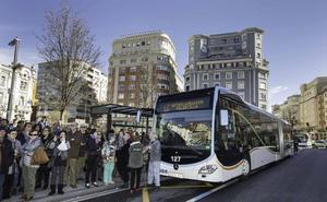 Trabajadores de los autobuses municipales afiliados a Comisiones se suman a las protestas contra el MetroTUS