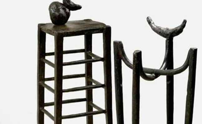La primera muestra sobre el proceso creativo de Miró se abre el martes en el Centro Botín