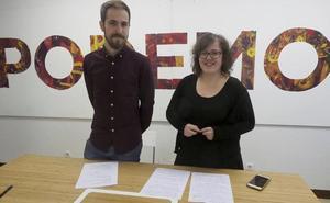 Ordóñez y Del Piñal apuestan por un «frente popular» de Podemos con otras formaciones para las elecciones de 2019