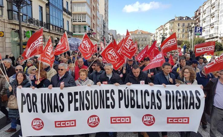 Santander sale a las calle «por unas pensiones públicas dignas»