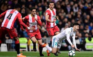 Stuani hace el segundo del Girona en medio del recital goleador de Ronaldo