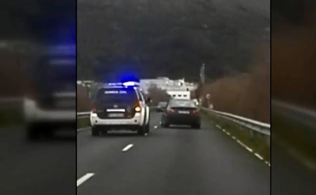 Así evitó la Guardia Civil el accidente de un conductor con hipoglucemia