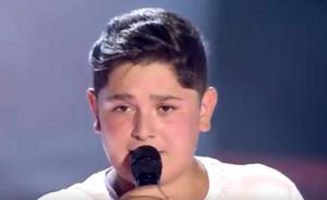 El santanderino Iván, primo de David Barrull, impresiona a los 'coach' de La Voz Kids