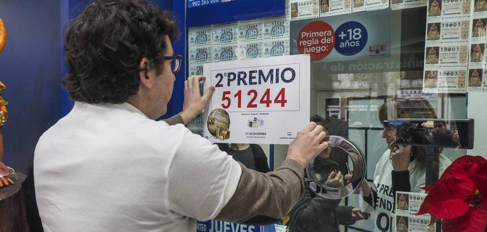 Nueve personas han reclamado ya el décimo premiado con 125.000 euros