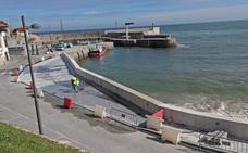 El puerto de Comillas cuenta con un nuevo mirador en lugar de la rampa