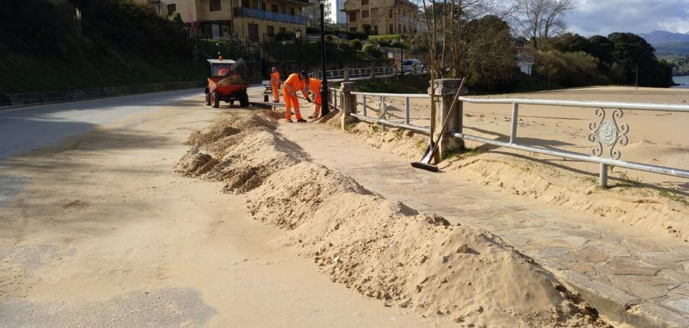 San Vicente pide a Costas un estudio por los cambios en la playa de El Tostadero