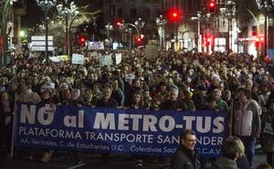 La Plataforma de Transporte estudia nuevas movilizaciones contra el MetroTUS