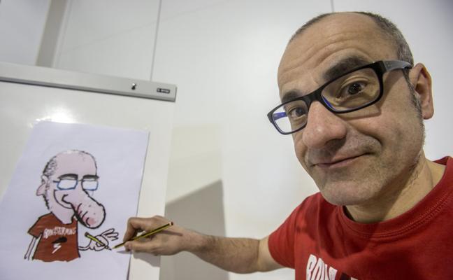 El dibujante Íñigo Ansola recibe hoy el V Galardón Bahía Sur Cultural