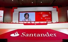 El Santander aprobará un dividendo un 4,76% superior al del año anterior