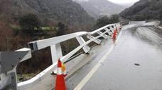 Las fuertes lluvias que ha dejado 'Hugo' provocan destrozos en Liébana