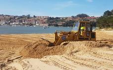 La arena del Tostadero vuelve a la playa