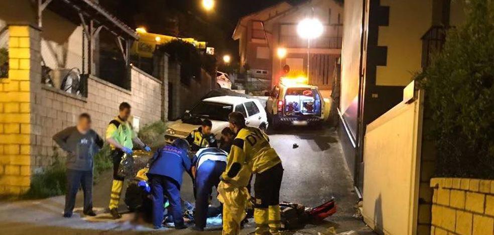 Un vecino de Castro de 47 años muere atropellado en Cerdigo