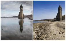 El pantano del Ebro ya no tiene sed