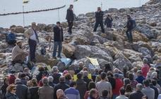Tercera protesta contra los diques de La Magdalena