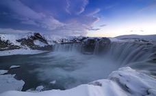 A la captura del cielo islandés