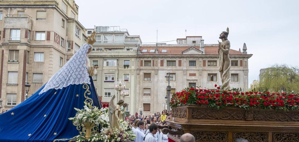 EL Resucitado pone fin a la Semana Santa de Santander