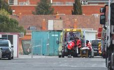 Un trabajador palentino, trasladado de urgencia a la cámara hiperbárica de Valdecilla