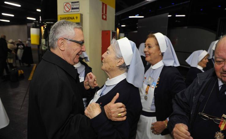 Peregrinación cántabra a Lourdes