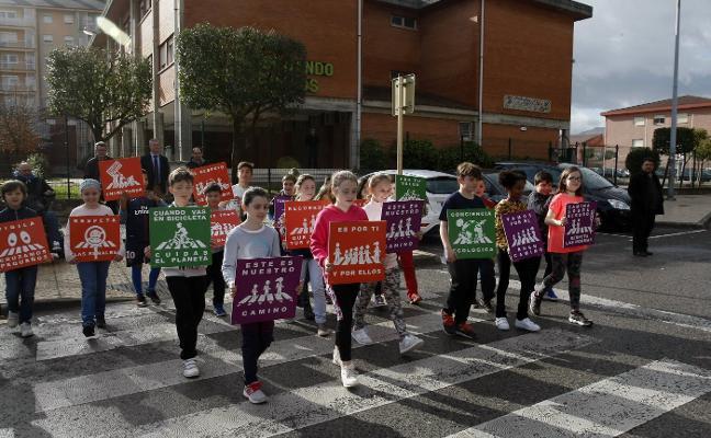 El colegio Fernando de los Ríos pone en marcha un proyecto de rutas seguras para escolares