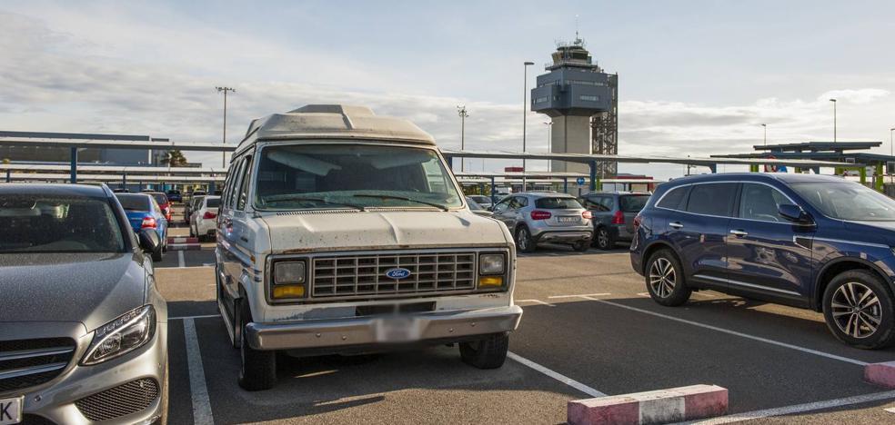 La vieja Ford abandonada en el Seve
