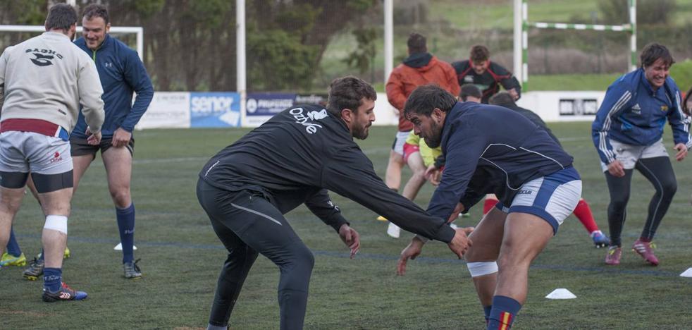 Senor y Bathco entrenan juntos en San Román