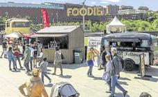 El Parque de Las Llamas, lugar elegido para un campeonato internacional de 'Food Trucks'
