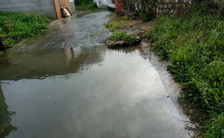 Inundación en el barrio de San Martín del Pino 26