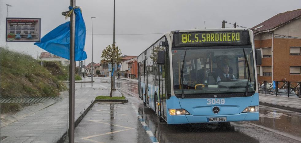Otro día de cambios en el bus de Cueto y Monte