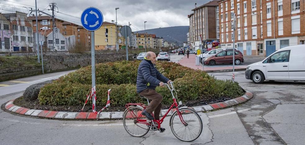 Una nueva rotonda en La Barcenilla