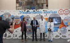 La exposición 'Trasplantando sonrisas' llega a Valdecilla