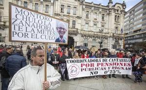 Los pensionistas cántabros volverán a la calle el sábado para reclamar pensiones dignas