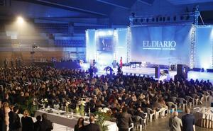 El Diario repasa un año de noticias arropado por un millar de asistentes a la gala