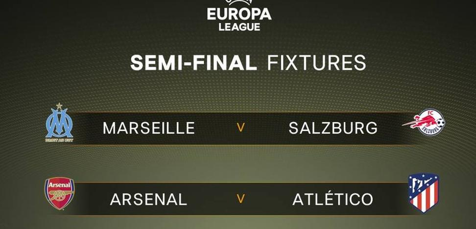 Arsenal-Atlético, final anticipada en la Liga Europa