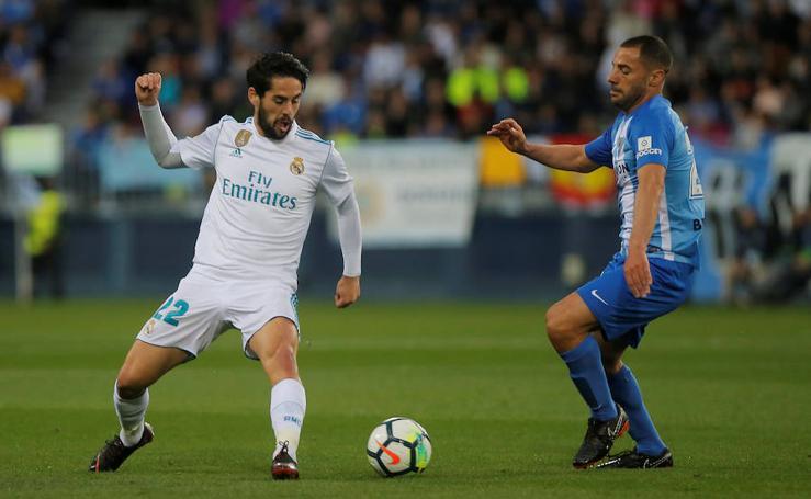 Las mejores imágenes del Málaga-Real Madrid