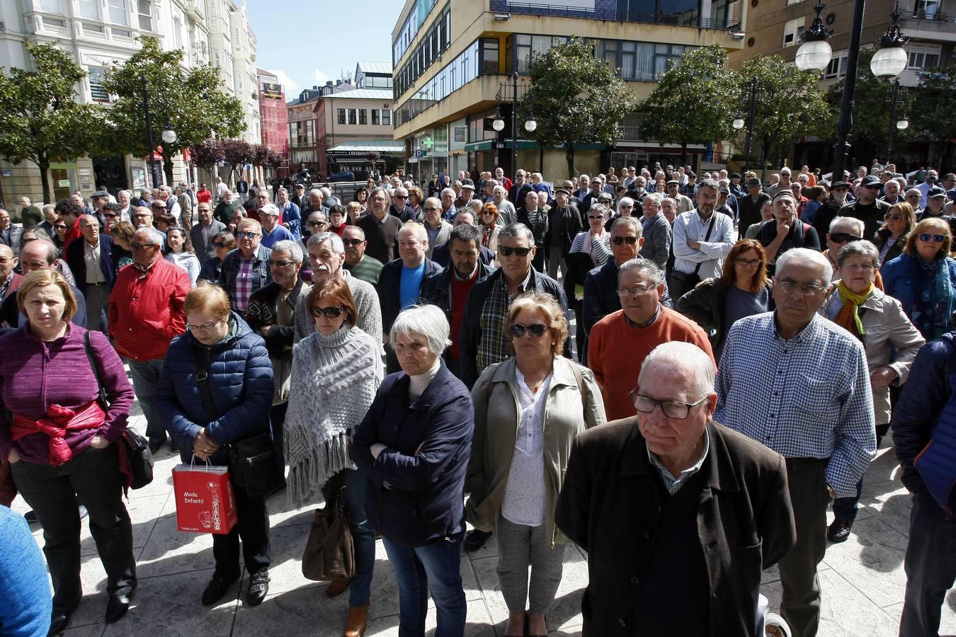 Los pensionistas vuelven a salir a la calle