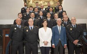 Santander incorpora 19 nuevos agentes de Policía Local