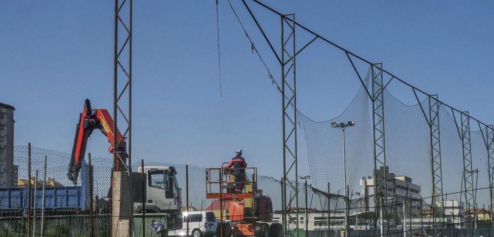 Un nuevo cierre para las Instalaciones Nando Yosu de la Albericia