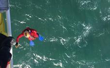 El cuerpo encontrado en el mar en Ciriego es el de un vecino de Santander de 87 años