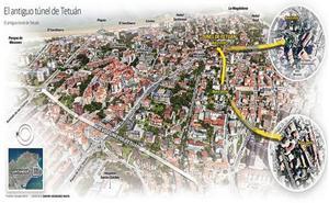 El proyecto para reabrir el viejo túnel de Tetuán estará listo en verano