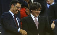 Bartomeu pide libertad para los políticos catalanes presos