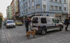 Espectacular redada policial contra el tráfico de drogas en el barrio de La Inmobiliaria
