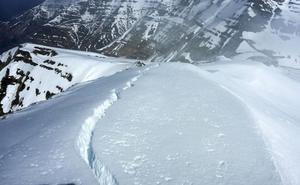 Picos de Europa y Alto Campoo están en riesgo notable de aludes hasta el domingo