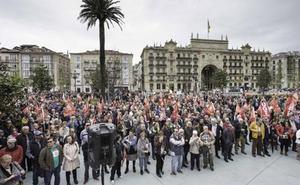 Cantabria vivirá el lunes diez protestas simultáneas para defender unas pensiones «públicas y dignas»